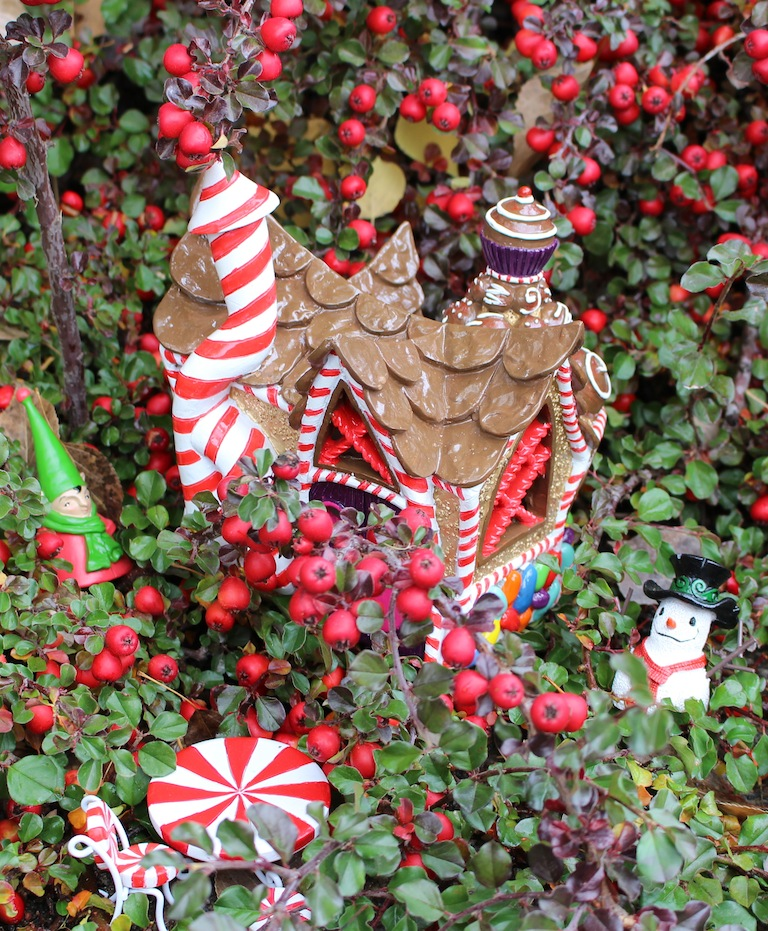 holiday fairy garden houses
