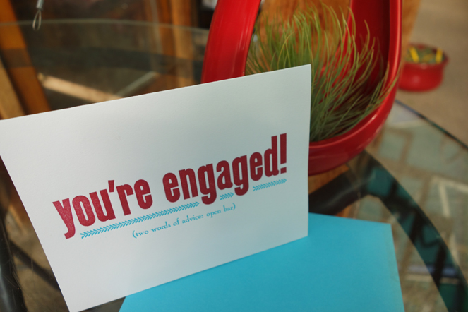 Engagement Cards Boulder Colorado