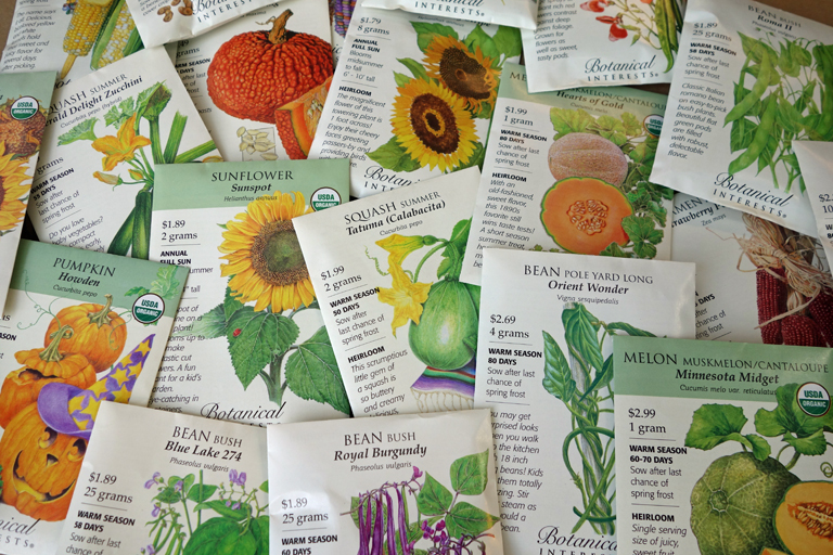 Warm Season Seeds