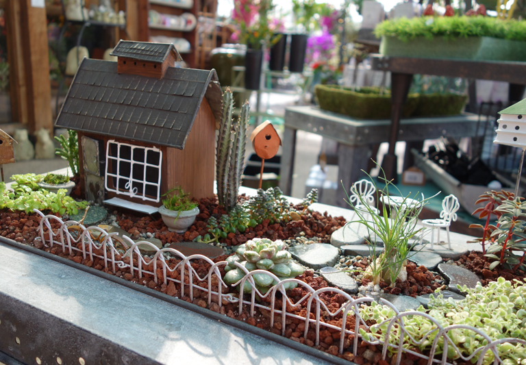 Farmhouse Fairy Garden