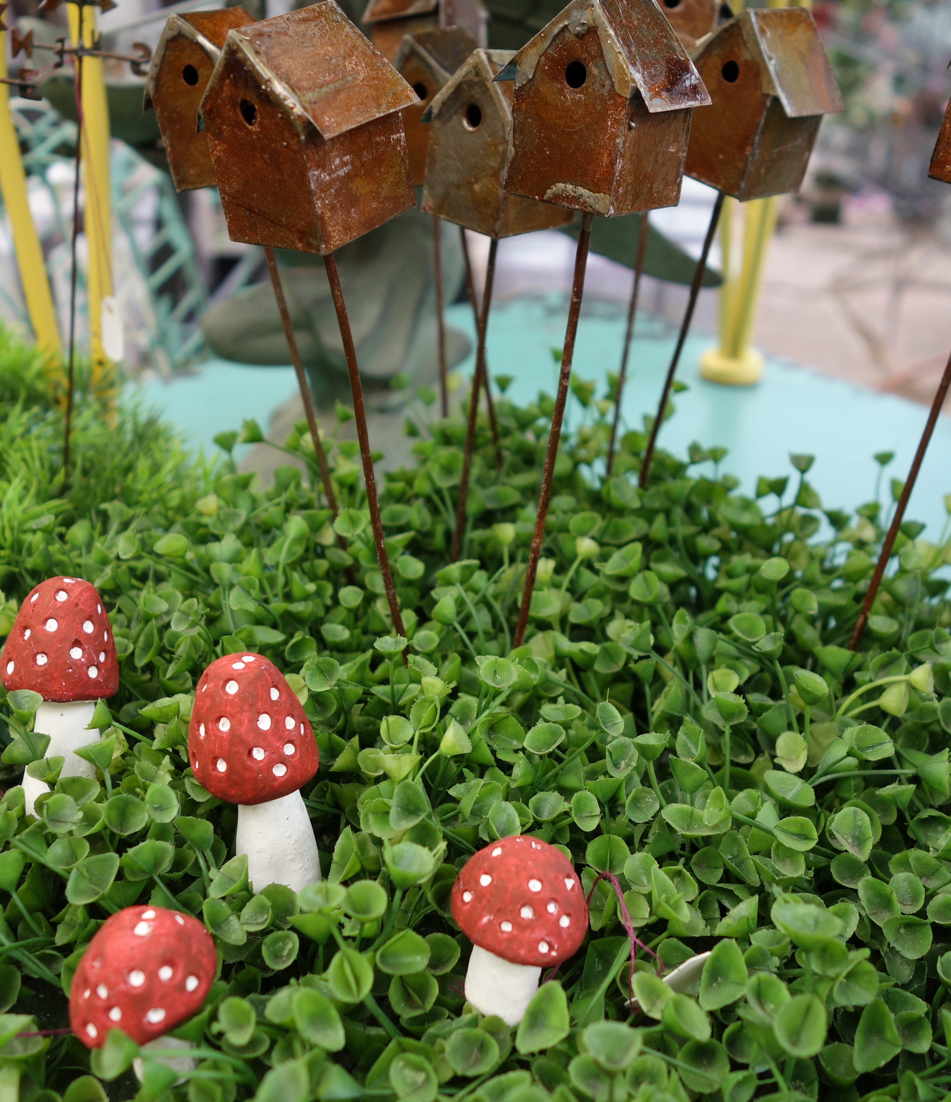 Fairy Garden Mushrooms