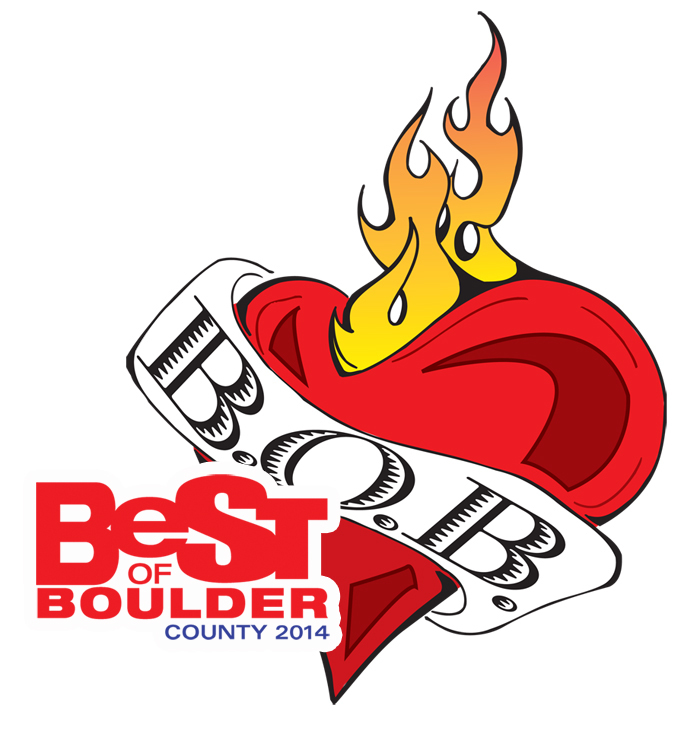 Best of Boulder Award for 2014