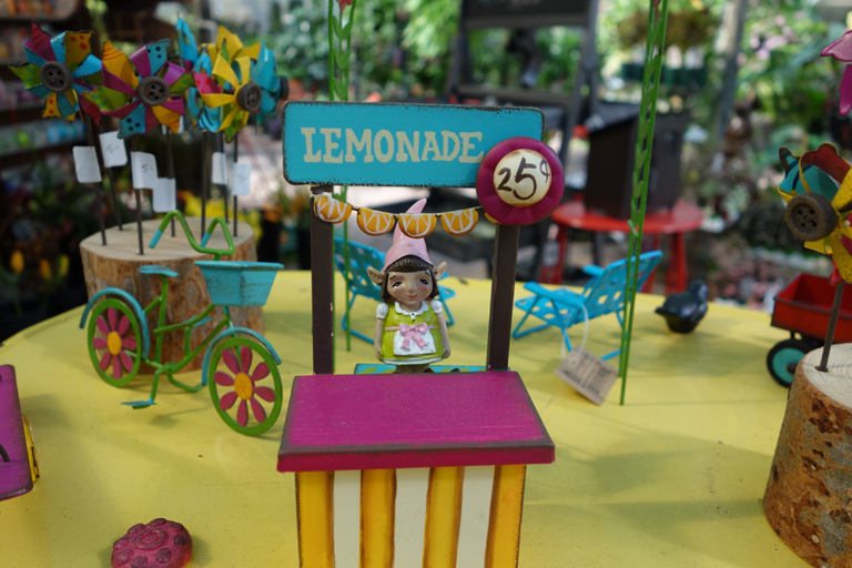 Fairy Garden Lemonade Stand