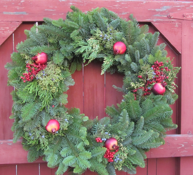 Pomegranate Wreath
