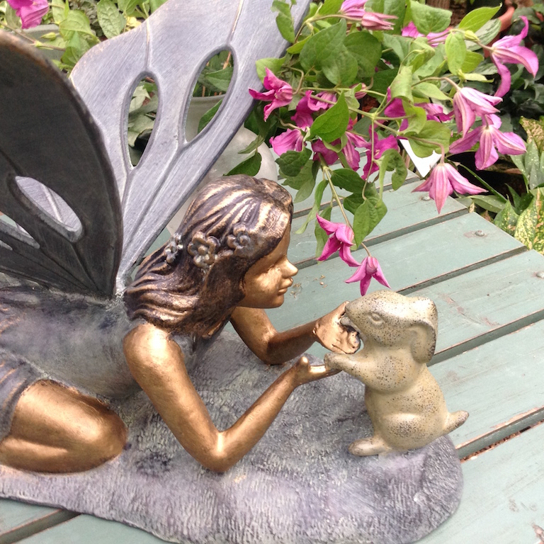 Garden Fairy with Bunny