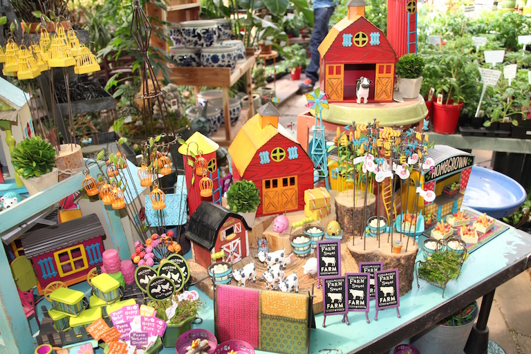 Fairy Garden Barn Yard