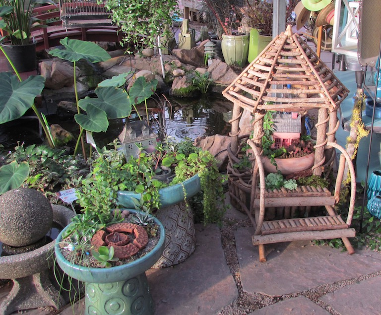 River Root Planters make the perfect Fairy Garden houses.