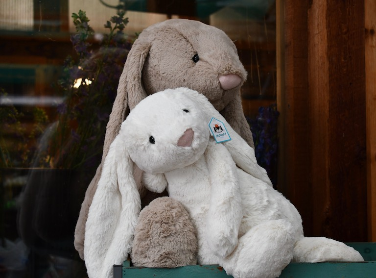 Jellycat bunnies for your Valentine