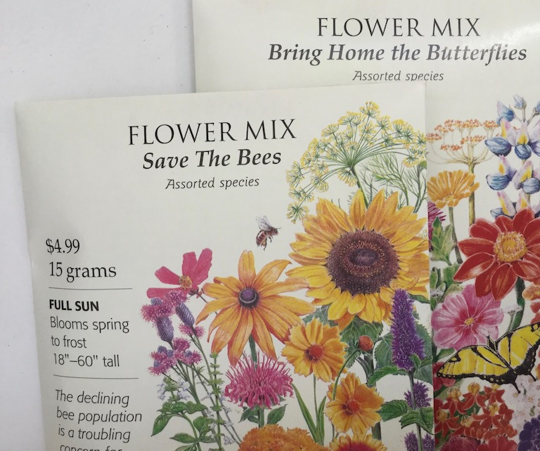 Save the Bees Flower Seeds by Botanical Interests