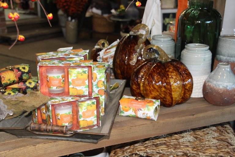 Pumpkin Melody Lotions, Candles and Soaps