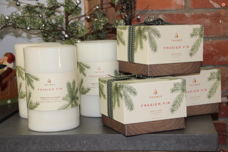 We love the fragrance of Frasier Fir