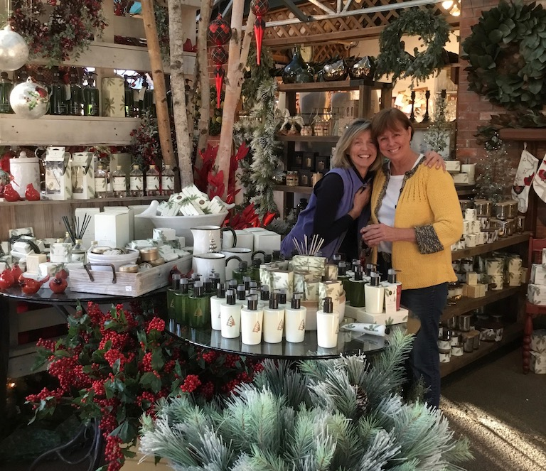 Jill and Stefany love our new Frasier Fir candle line