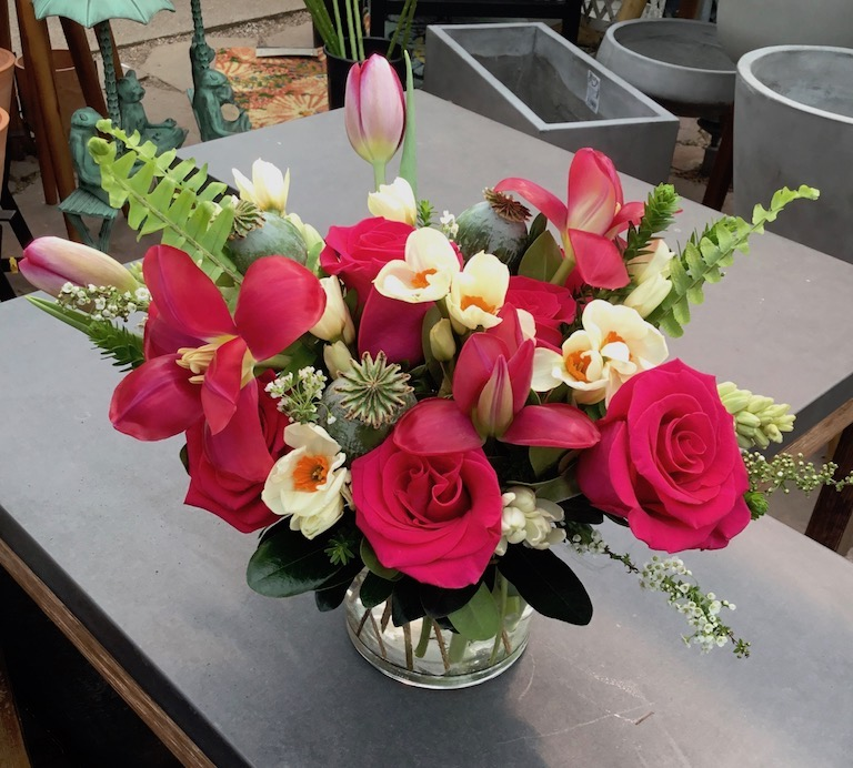 Roses and Tulips for Mom $65 to $85