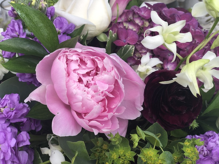 Peonies are one of our favorite May flowers